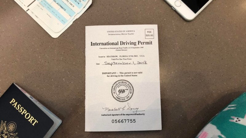 What's an International Driver's Permit?