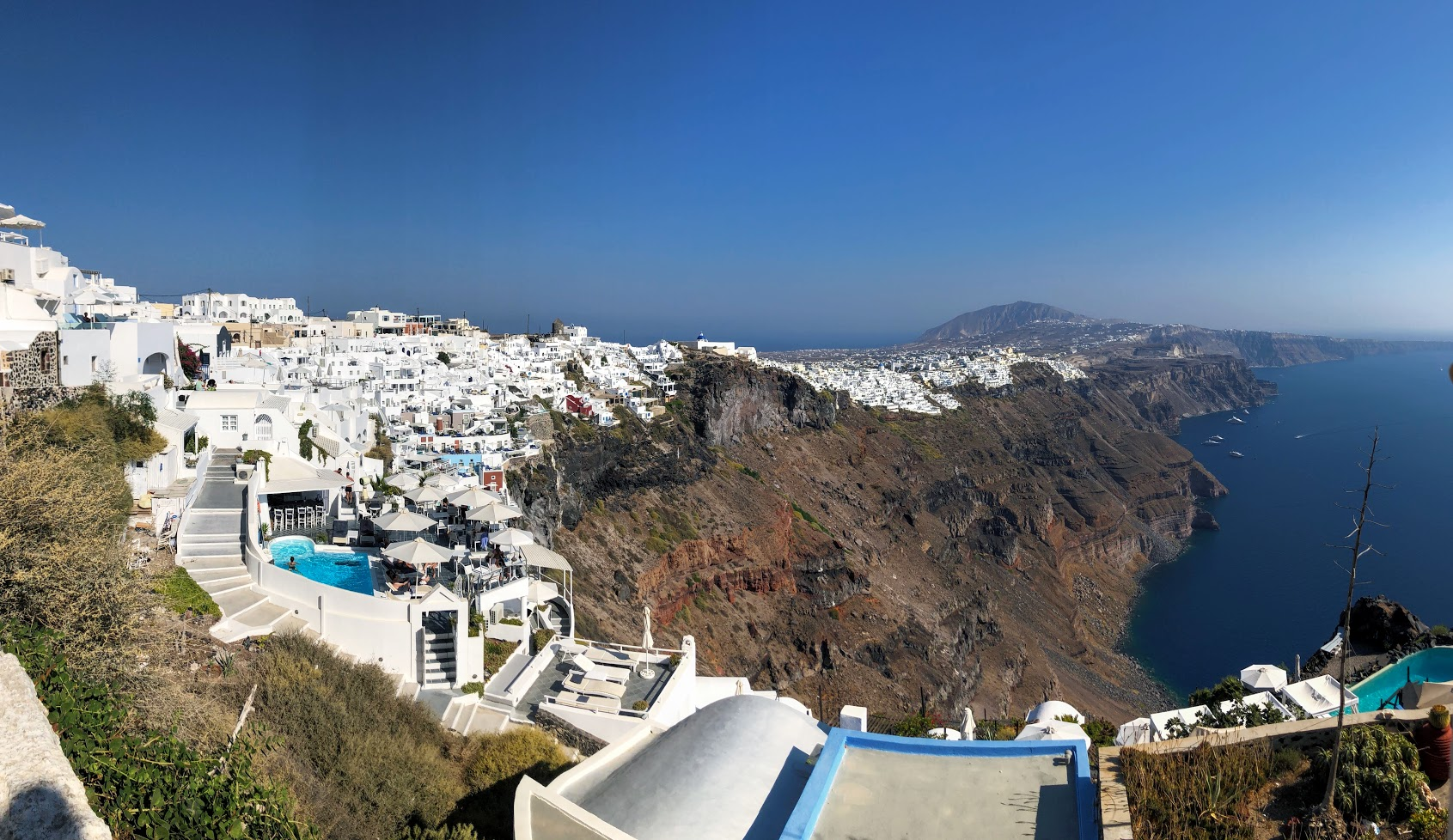 Traveling Santorini & Mykonos Greece