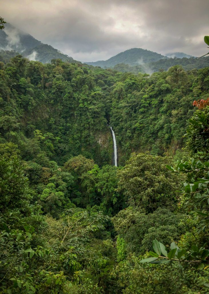 La Fortuna Waterfall. March 2019