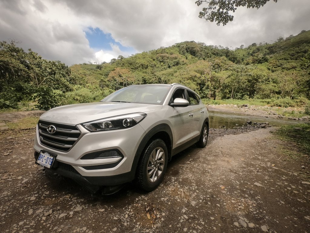 Hyundai Tucson - Adobe Rent A Car