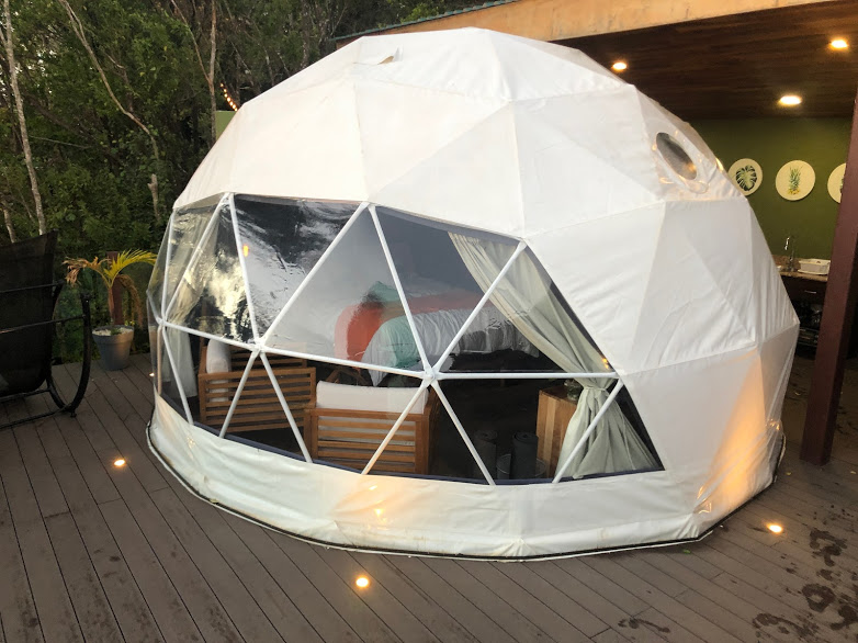 Chira Glamping Sunset View Yurt. Monteverde Costa Rica. March 2019