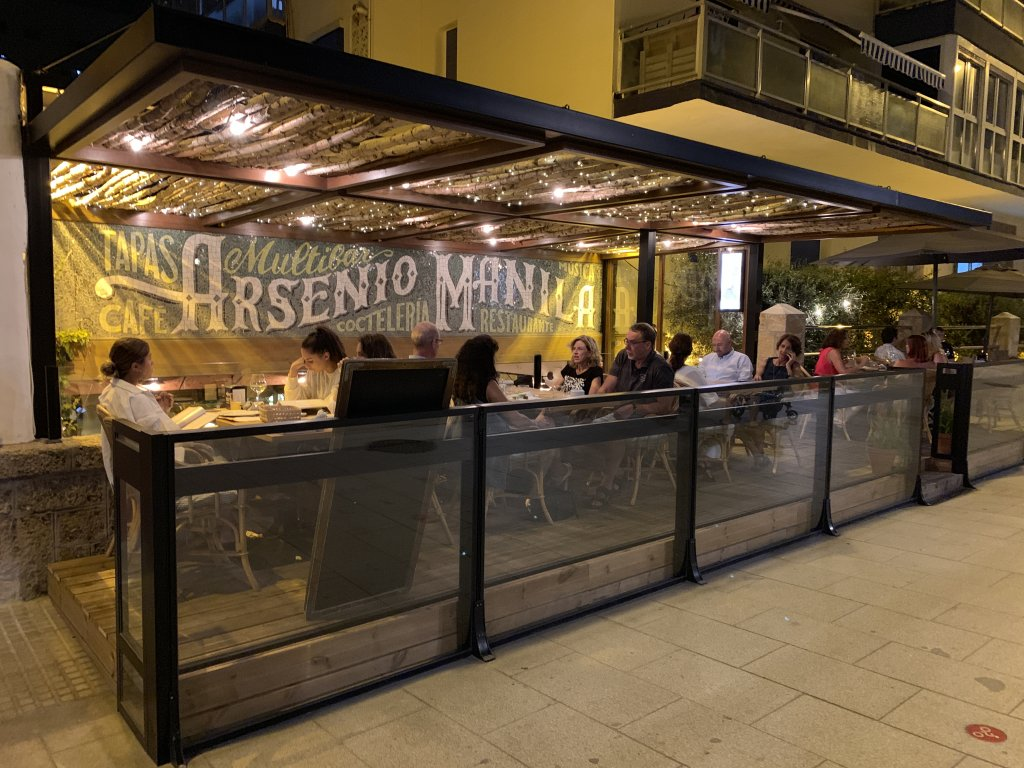 Restaurante Arsenio Manila cadiz spain