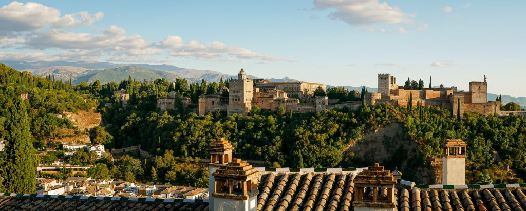 The Alhambra Palace Granada, Spain