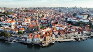 Drone Photography of Porto Portugal